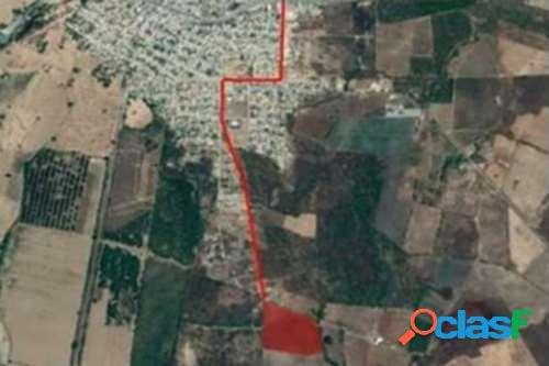 Se vende terreno superficie 60,000 m2 en villa union