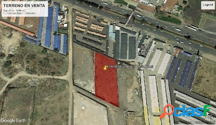 Terreno con excelente ubicación cerca del aeropuerto de guadalajara