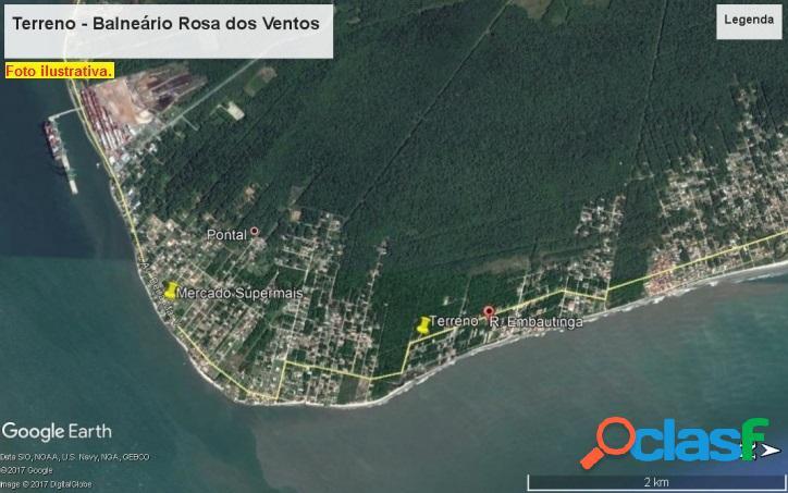 Terrenos Balneário Rosa dos ventos 1