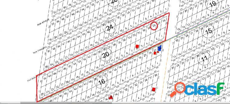 Terreno balneário rosa dos ventos - 375,00 m²