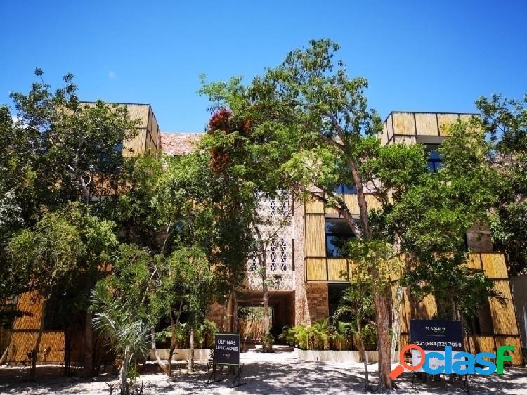 Apartamento de 3 recamaras en tulum quintana roo torre b countess ii