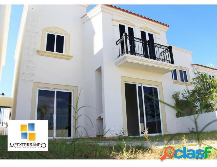 Amplia casa en venta en mediterraneo cagliari, mazatlan sinaloa.