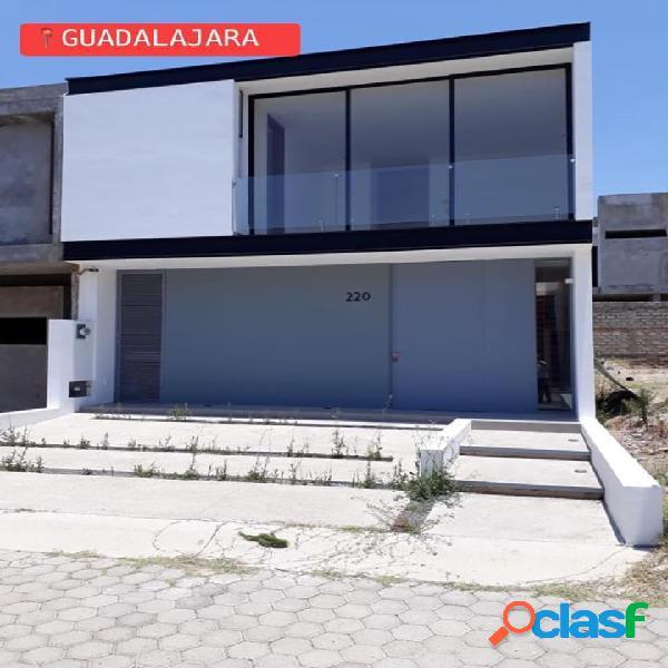 Hermosa casa en venta en guadalajara jalisco