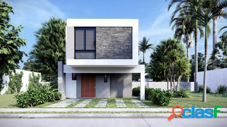 Casa modelo agave en residencial sonterra mazatlan