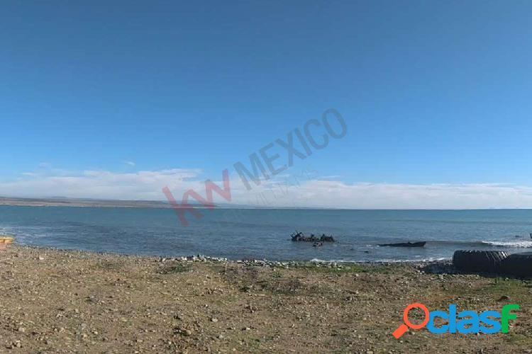 Terreno para desarrollar frente al mar en punta colonet baja california