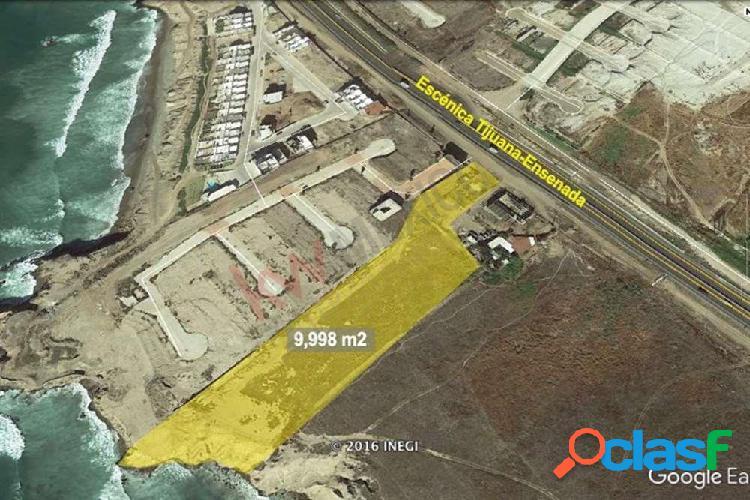 Terreno en venta de 1 hectárea con vista al mar en playas de tijuana