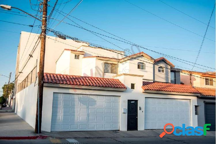 Amplia casa en venta en tijuana, colonia el rubí. casa 6 recamaras tijuana