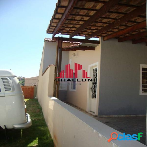 Casa térrea 03 dormitórios com suíte em condominio-jardim casa branca