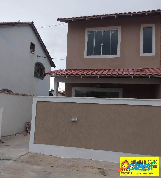 Casa 2 quartos, cond. em itaipuaçu- r$ 195 mil