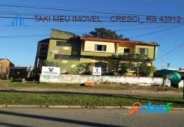 Terreno à venda, 1.320 m² por r$ 2.000.000 maringá - alvorada/rs