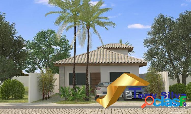 Casas em alto padrão 115 m² em são pedro da aldeia