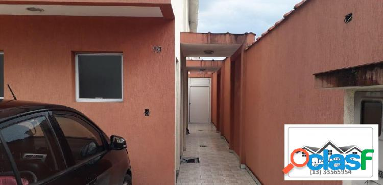 Casa de condomínio 2 dormitórios 2 suítes / aceita financiamento.