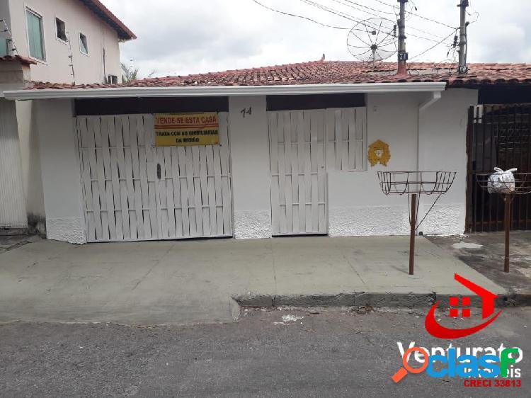 Casa individual 3 quartos no bairro sinimbu.