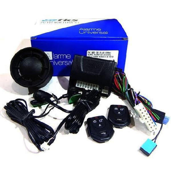 Alarme fks fk902 c/ antifurto (instalado)