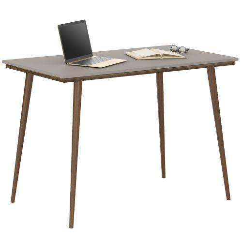 Mesa de computador vintage marrom fum/u00ea