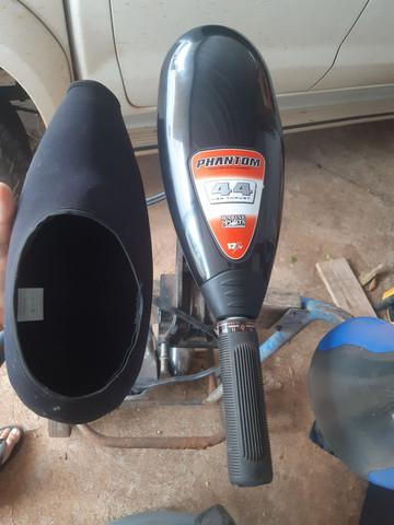Motor elétrico phantom bateria moura e carrinho