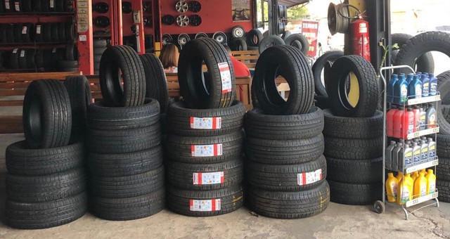 Preço imperdível de pneus novos a partir de r$215,00
