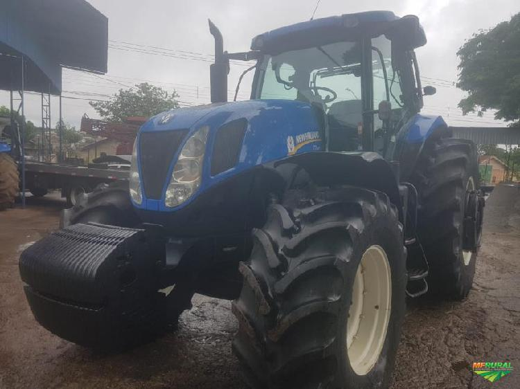 Trator new holland t7.245 4x2 ano 17