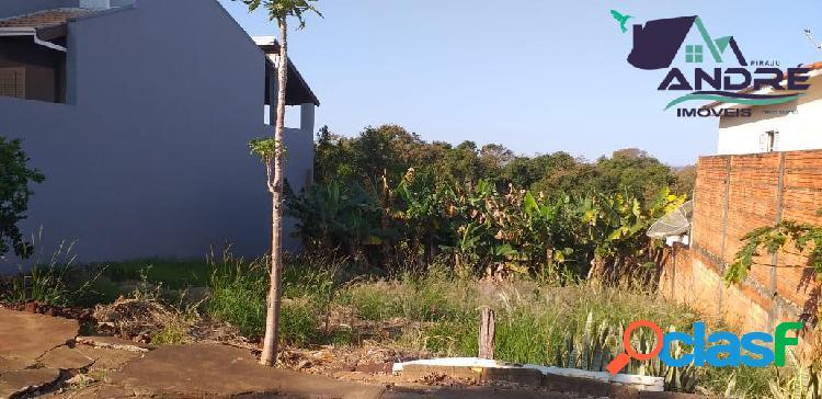 Lote, 220m², no jardim ana carolina, piraju/sp.
