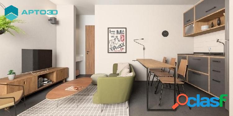 Apartamento brooklin 1 dormitório - 35 m²