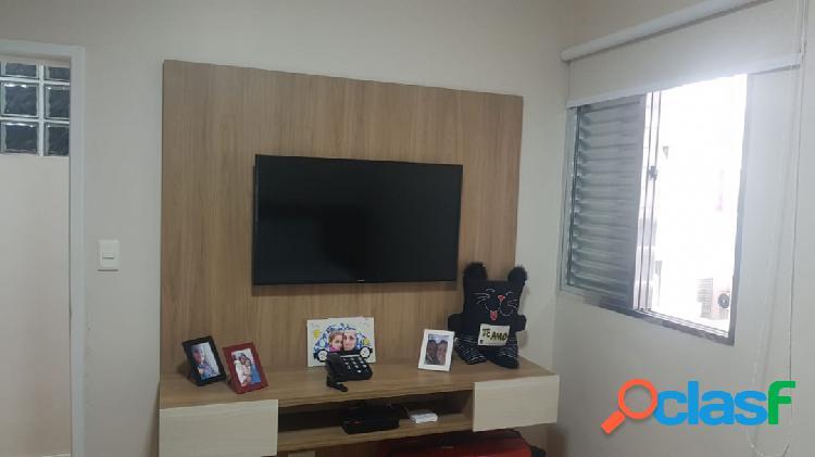 Apartamento 1 dormitório- reformado- garagem- praia - josé menino