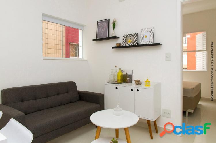 Sala living - dividida - reformada-mobiliada -vazia- itararé - são vicente