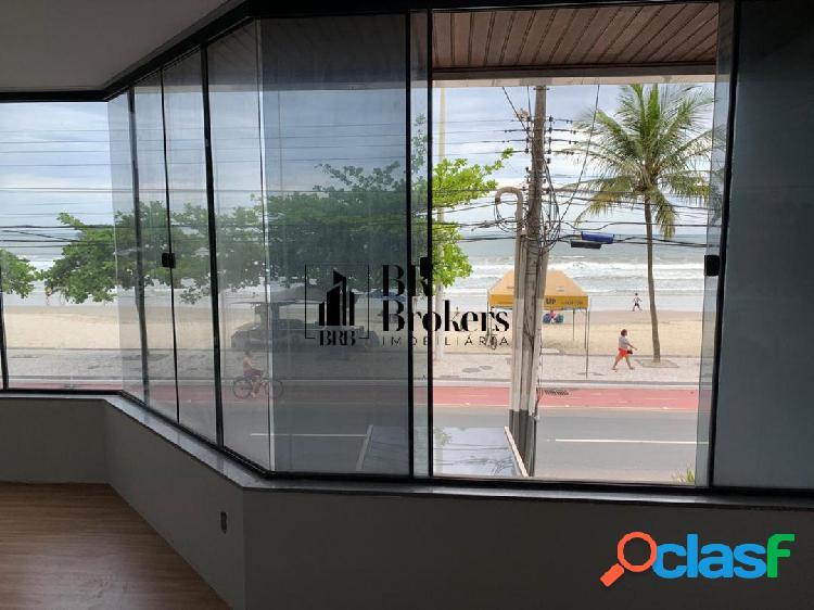 Locação anual - belíssima sala comercial com 200 m² frente mar