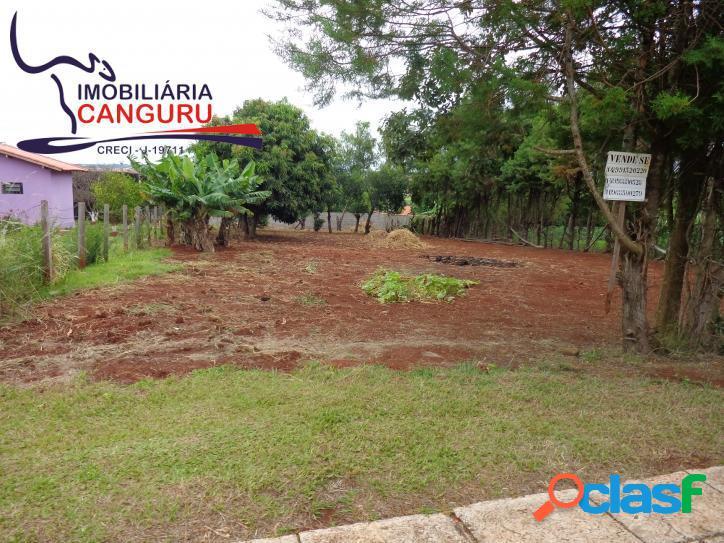 Terreno, 1.000 m², Portal Ecol. Salto Paranapanema, Piraju.