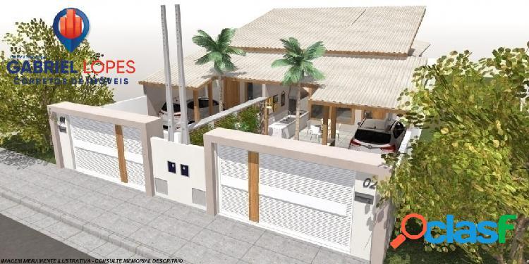 Casa 3 dormitórios - pontal santa marina - caraguatatuba - sp
