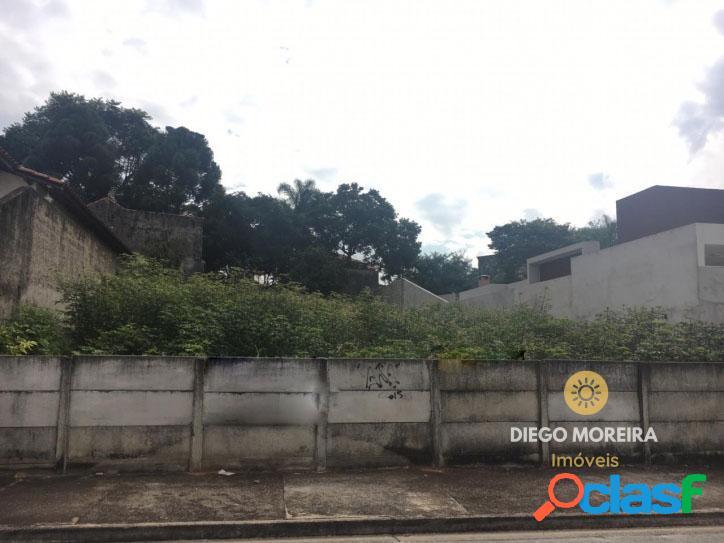 Terreno á venda em atibaia, bairro de alto padrão