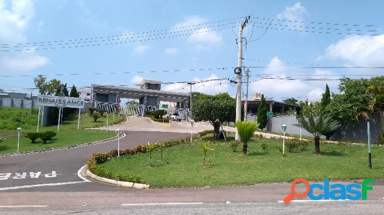 Terreno condomínio fechado renaissance - sorocaba