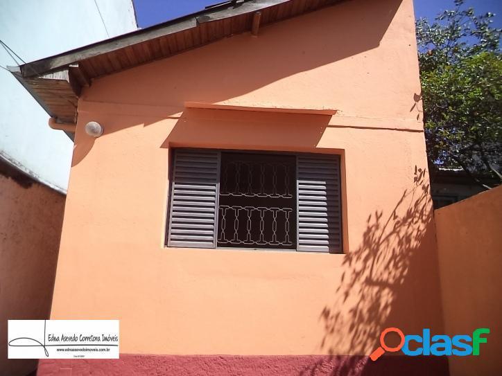 Casa térrea - 3 cômodos - 78m² - terreno 200m² -v.pires - santo andré/sp.
