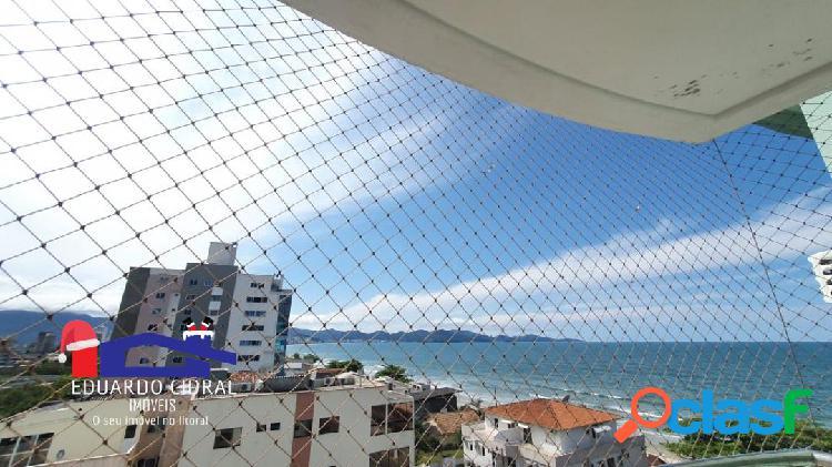 Apartamento frente mar com 3 dormitórios em porto belo para temporada