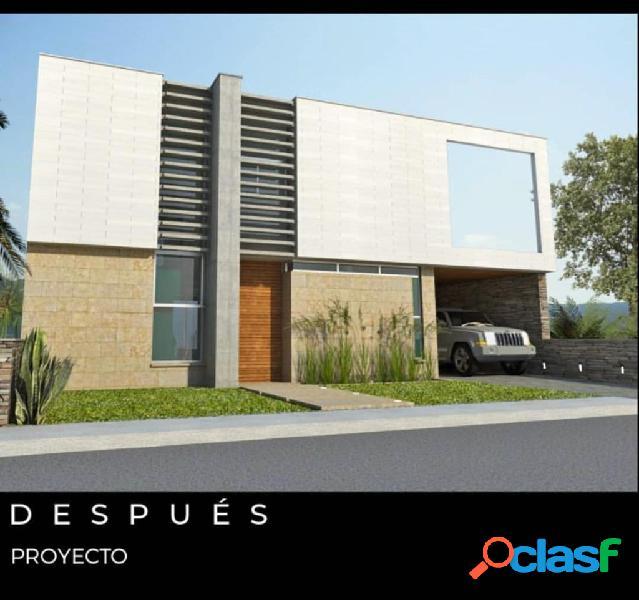 Casa en construcción lomas del country guataparo