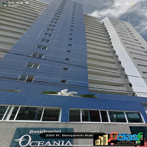 Vendo excelente apartamento com vista definitiva para o mar!!!