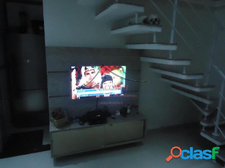Apartamento cobertura duplex- san domingos - toda mobiliada