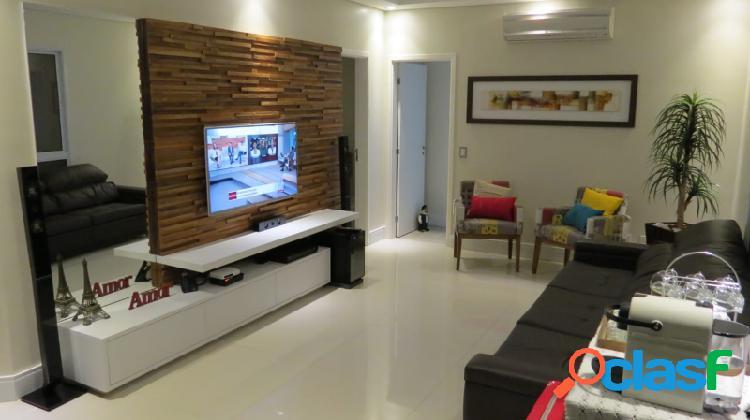 Apartamento na vila andrade, 3 dorm, 3 suites 2 vagas cobeturas com 142m²