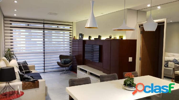 Apartamento vila olimpia, 3 quartos, 1 vaga, 87m.