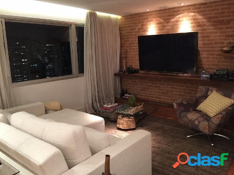 Apartamento vila olimpia, 2 quartos, 1 vaga,124m.