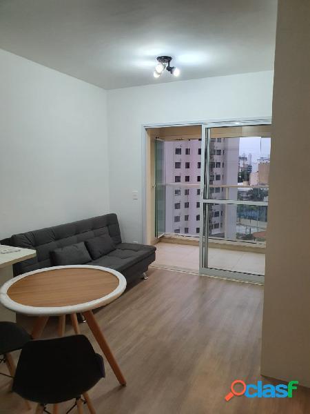 Apartamento para locação vila mariana, 1 quarto, 1 vaga,40m.