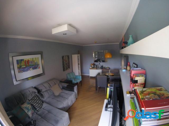 Apartamento para locação chacarra santo antonio, 2 quartos, 1 vaga, 82m
