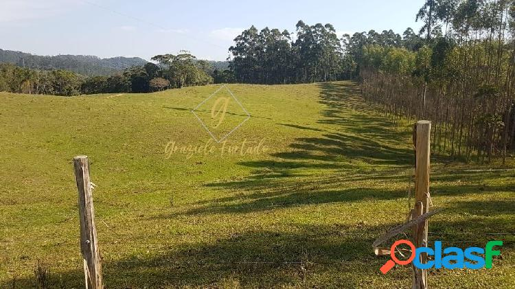 Terreno rural localizado município de tijucas - sc