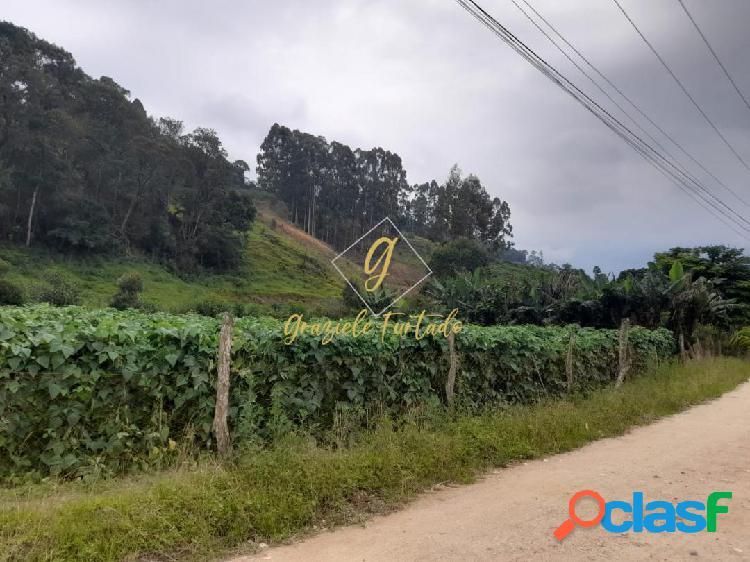 Terreno rural com escritura pública localizado município de angelina - sc