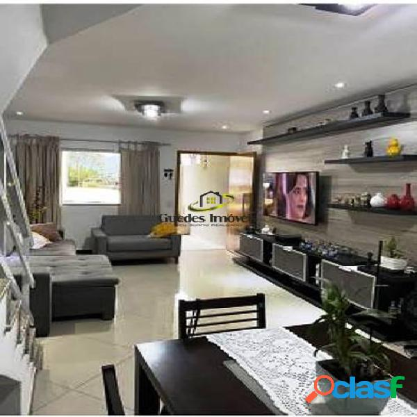 Ótima casa duplex 3 suítes com terraço condominio ana taquara