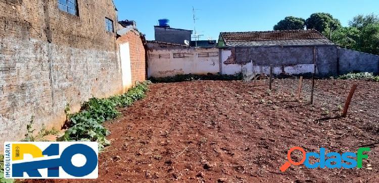 Terreno a venda de esquina 392 m² ótima para construção de casas geminada