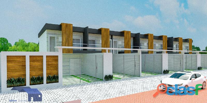 Sobrado Villagio Reica, com 2 quartos com suíte, à venda em Itanhaém SP – Suarão