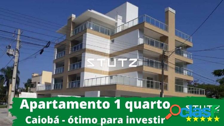 Apartamento à venda em caiobá com 1 quarto - seguro ideal para investir