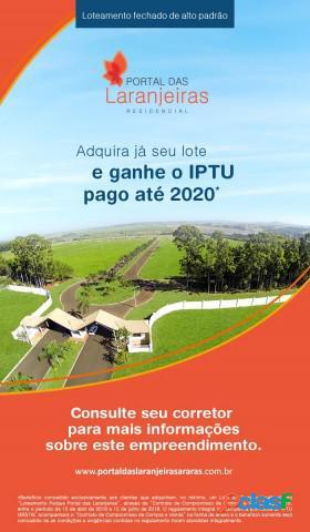 Terreno - venda - araras - sp - residencial portal das laranjeiras