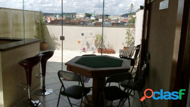 Cobertura - venda - santo andré - sp - vila tibiriçá