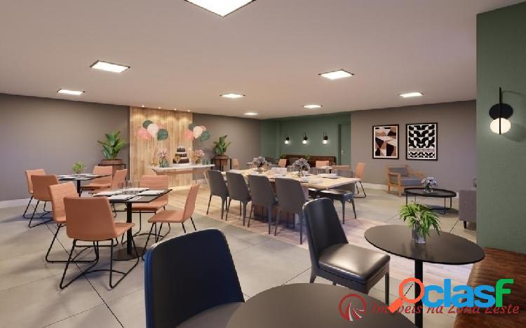 Apartamento 2 dorms, 37m², com vaga, com varanda - Belém 1